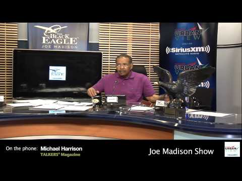Joe Madison debates Rush Limbaugh's comments about Sandra Fluke | Joe Madison - The Black Eagle
