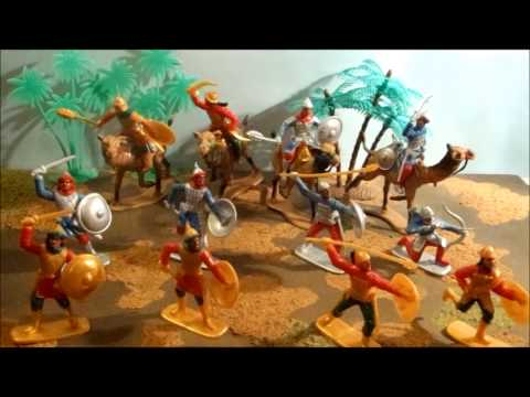 Plastic Toy Soldier review #24 - Tiger Hobiies 1:32 scale Saracens