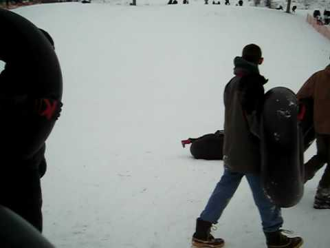 Sledding at Calumet County Park 2