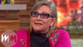 Top 5 Hilarious Carrie Fisher Moments