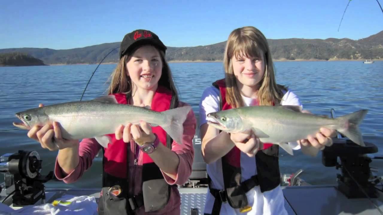 Kokanee fishing lake berryessa 9 5 10 aggressive kokanee for Berryessa fishing report