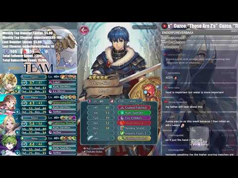 Rushed Arena Assault - Top ??? & Hero Reviews! | Live Streamed 【Fire Emblem Heroes】
