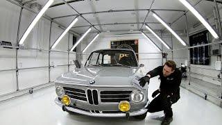 BMW 2002ti - DETAILING Crystal Rock - Paddy poliert PS Car Garage