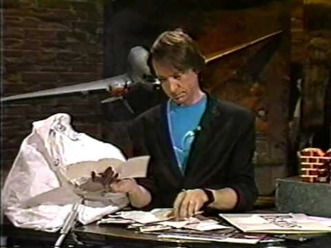 Peter Tork is VJ on MTV 4th May 1986