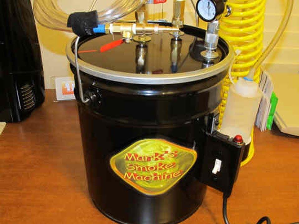 smoke machine for vacuum leaks