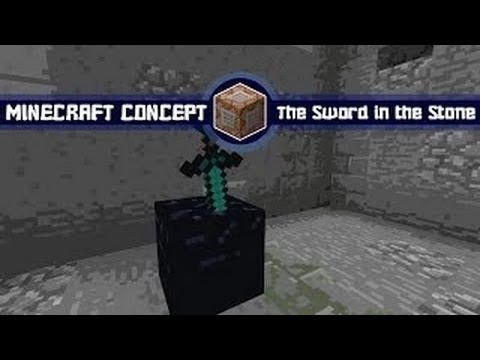 Minecraft Concept: King Arthur Sword in the Stone