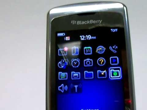 Blackberry 8220 Pearl Flip Erase Cell Phone Info - Delete Data - Master Clear Hard Reset