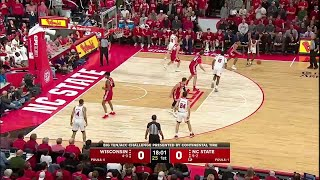 Highlights: Badgers Fall on the Road | Wisconsin at NC State | Dec. 4, 2019