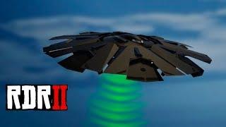 Un extraño sonido de Red Dead Redemption 2 suena igual que el OVNI de Fort Zancudo