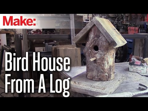 DiResta: Log Birdhouse