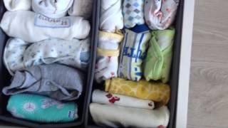 Организация комода для малыша. Что в моем пеленальном комоде? Покупки для малыша. Часть 2