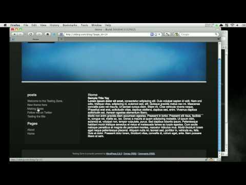 0 Wordpress Template Programming   Part 9