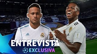 "VINÍCIUS JUNIOR: ""EU ESCOLHERIA O NEYMAR PARA O REAL MADRID"" - ENTREVISTA EXCLUSIVA"