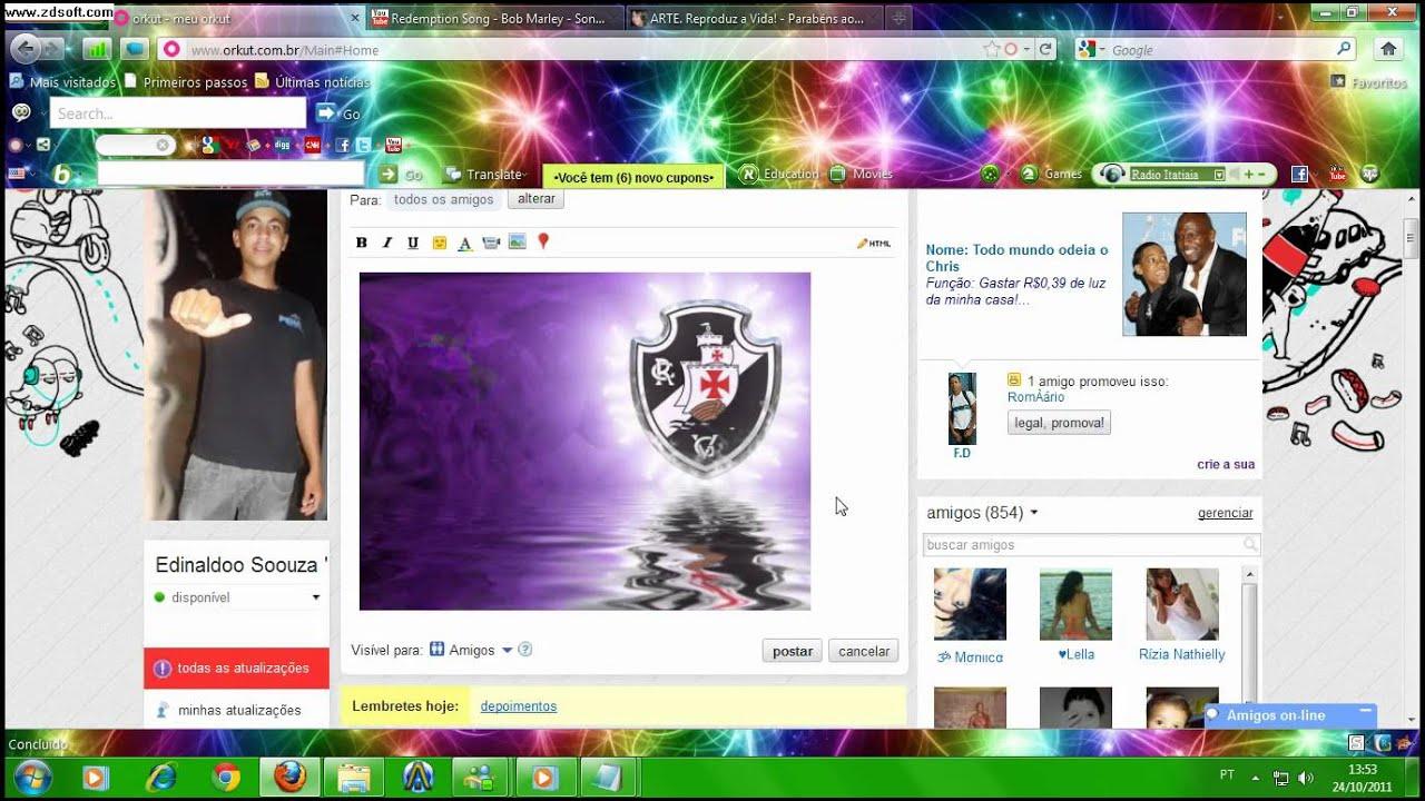 Como alterar a foto do perfil do orkut antigo 35