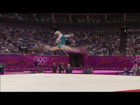 Gymnastics Artistic Women's Qualification Sub Division 2 Replay -- London 2012 Olympic Games