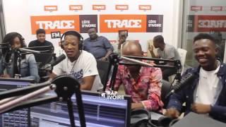 Bop de Narr s'enjaille a Trace FM avec Niska ( Freestyle Lourd )