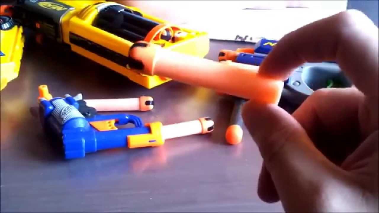 Pistolety NERF #2  najlepsze zabawki dla dzieci i