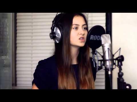 Девушка классно поет,красивый голос,талант,шикарно поет,у девушки талант,умеет петь   Wrecking Ball