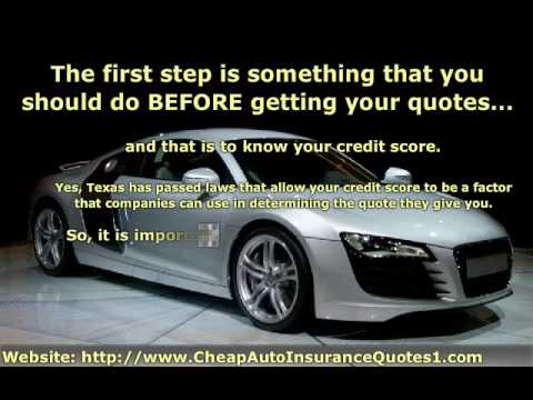 Cheap Auto Insurance Texas - You Gotta Know Where to Look!