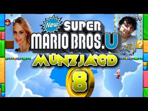 New Super Mario Bros U Münzjagd Münz-Level 8 + Münzeditor