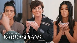 Kim, Kris & Kourtney Kardashian Drink 2,000-Year-Old Tea | KUWTK | E!