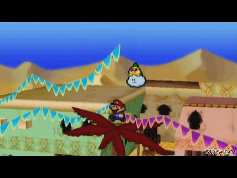 Misc Computer Games - Paper Mario - Dry Dry Desert