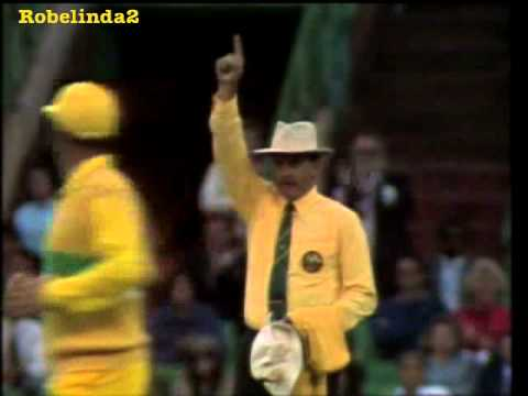 The best of the 12th man compilation with real dismissals to...