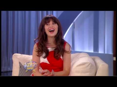 Zooey Deschanel Talks 