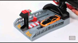 Mega Bloks Need For Speed Turbo Wheel Launcher 95716.mov