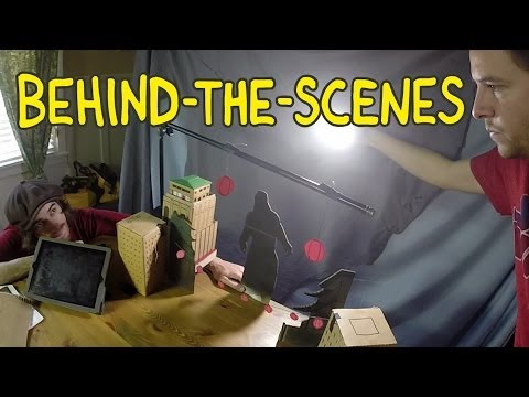 Godzilla Trailer - Homemade Behind the Scenes