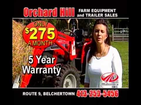 mahindra tractor commercial