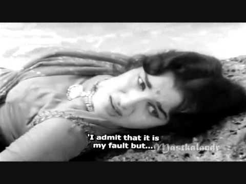wo dil kahan se laun..Lata - RajinderKrishan- Ravi..Bharosa1963...