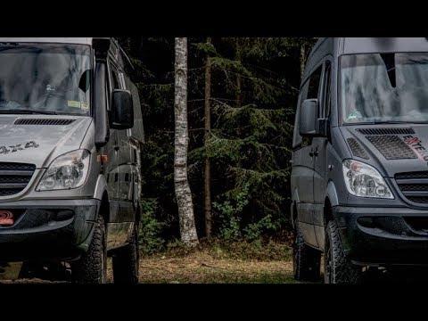 Teil 7 Sprinter4x4: Wir reisen mit unserem Allrad-Camper-Van durch Schweden.
