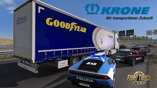 ETS2 I New Krone Trailer 🚚 A World of Trucks Event! 🔵 #702 Euro-Tour [Deutsch/HD]