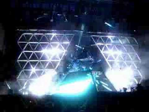 Daft Punk - One More Time/Aerodynamic Lollapalooza 2007