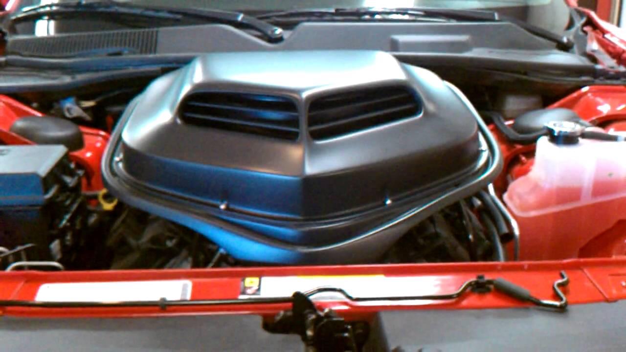 AFR Shaker for Dodge Challenger R/T and SRT8 - YouTube