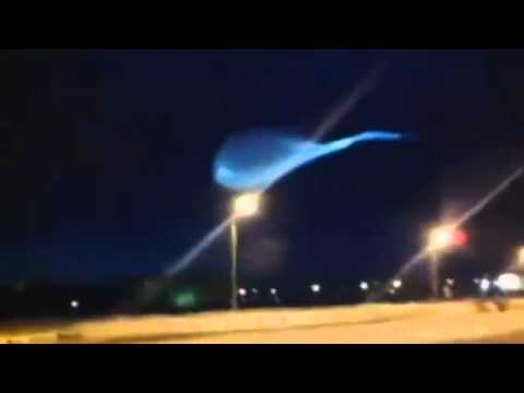 Mysterious Vortex Energy Spiral or UFO Seen In Russia: SEE DESCRIPTION!