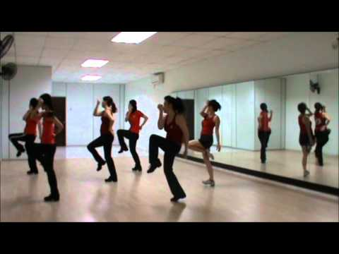Wang Qing Samba (Line Dance)