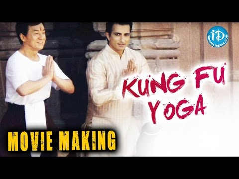 Kung Fu Yoga Exclusive Movie Making Stills - Jackie Chan || Sonu Sood