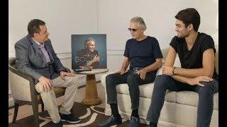 Andrea Bocelli Y Su Hijo Juntos En Entrevista Exclusiva De Voz Populi Blu Radio