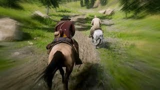 Cross Country Horse Race in Red Dead Redemption 2