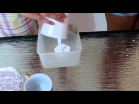 Materiales y procesos- Cómo hacer un polímero casero?