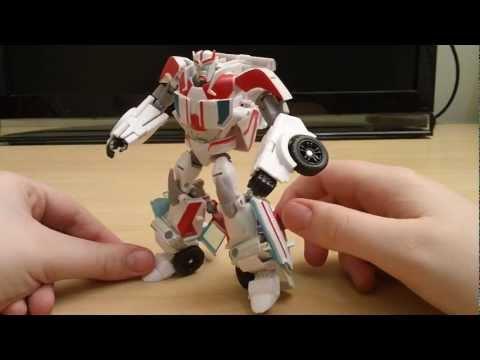 Transformers Prime RID Ratchet - revisão em portugues Brasil