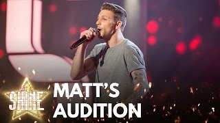 Matt Knight performs 'Wake Me Up' by Avicii - Let It Shine - BBC One