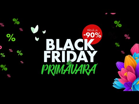 Black Friday de  Primăvară pe elefant.ro 2 (4:5)