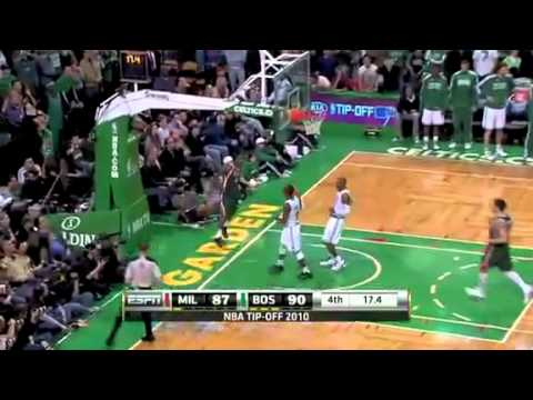Boston Celtics vs Milwaukee Bucks Recap (11-3-10)