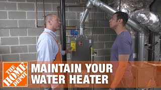 How To Flush & Drain a Hot Water Heater | Maintenance Tips | The Home Depot