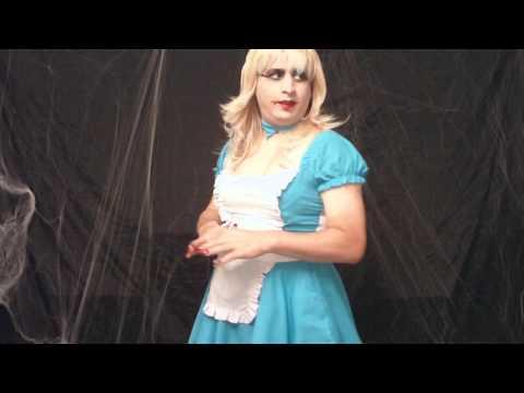Crossdressing Kimmie Shows More Halloween Stuff