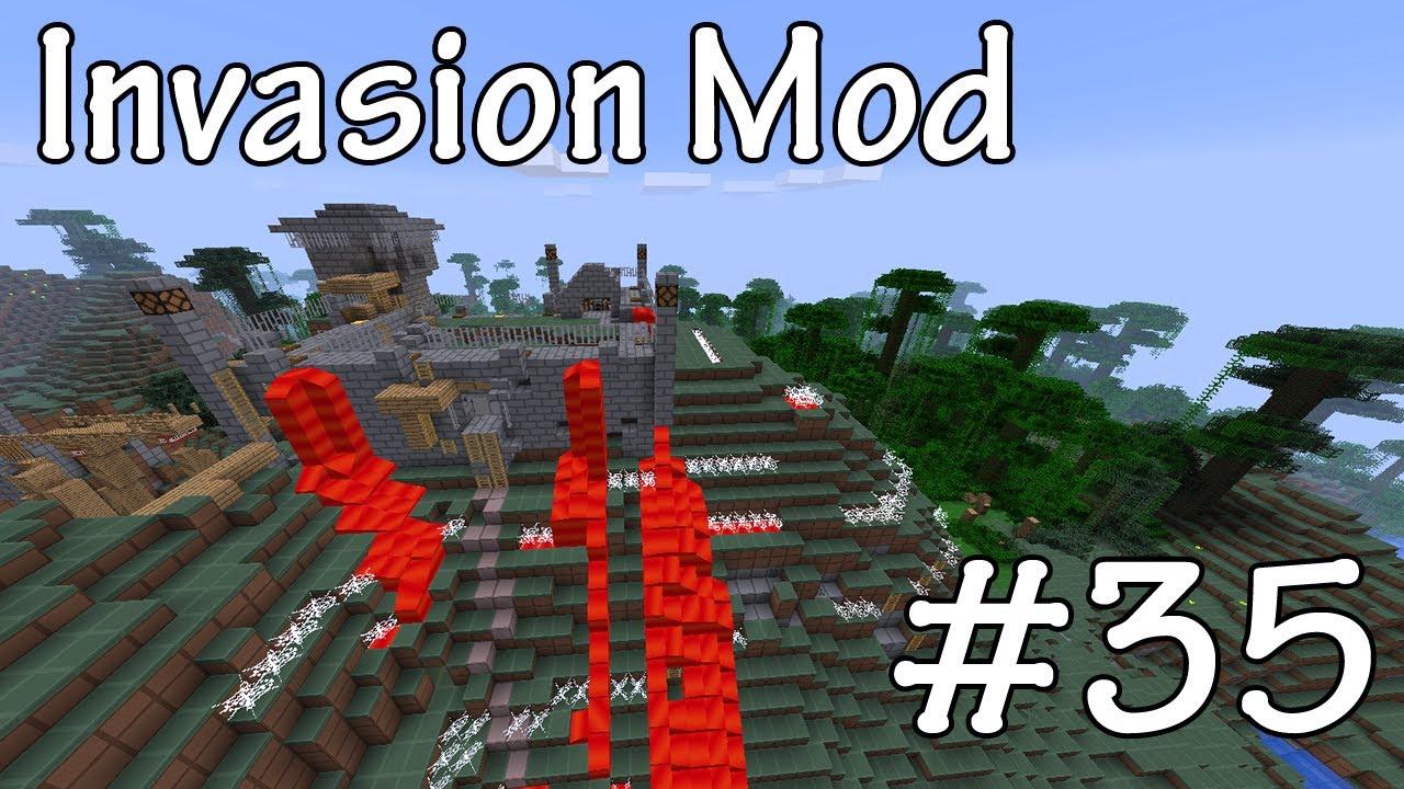 Invasion Mod Map! Minecraft Project