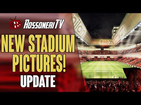NEW STADIUM PICTURES! | AC Milan Update